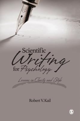 Scientific Writing for Psychology: Lessons in Clarity and Style Cover Image
