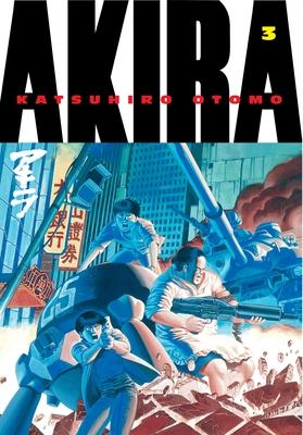 Akira, Volume 3 Cover