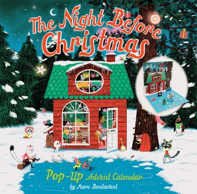 The Night Before Christmas Pop-Up Advent Calendar Cover Image