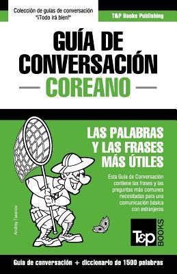 Guía de Conversación Español-Coreano y diccionario conciso de 1500 palabras Cover Image