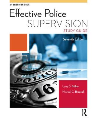 Effective Police Supervision Study Guide Cover Image