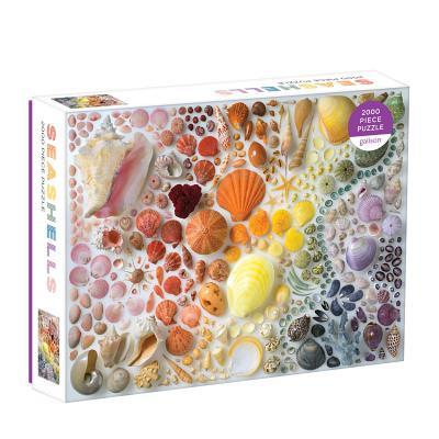 Rainbow Seashells 2000 Piece Puzzle Cover Image