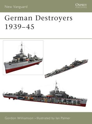 German Destroyers 1939-45 Cover