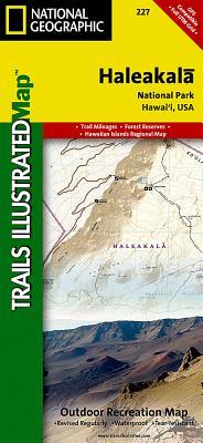 Haleakala National Park (National Geographic Maps: Trails Illustrated #227) Cover Image