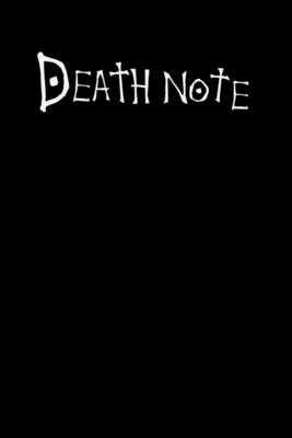 Death Note: 6x9 120 Page Wide Ruled Notebook Cover Image
