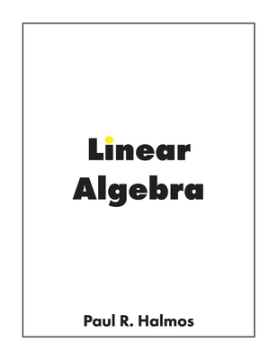 Linear Algebra: Finite-Dimensional Vector Spaces Cover Image