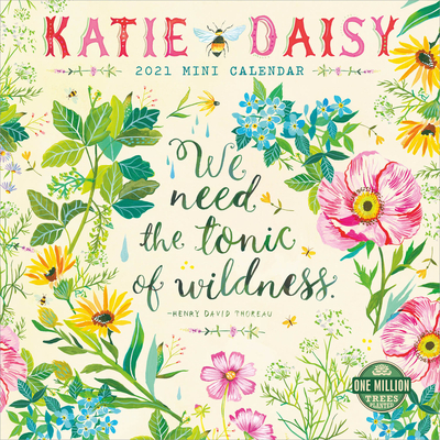 Katie Daisy 2021 Mini Calendar Cover Image