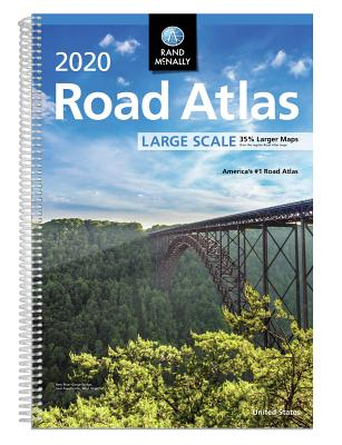 Rand McNally 2020 Road Atlas Large Scale Cover Image