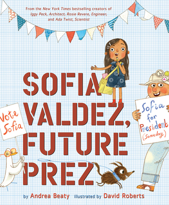 Sofia Valdez, Future Prez (The Questioneers) Cover Image