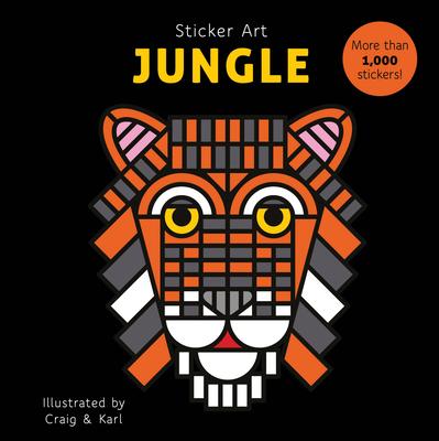 Sticker Art Jungle Cover Image