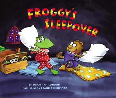 Froggy's Sleepover Cover
