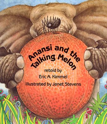 Anansi and the Talking Melon Cover