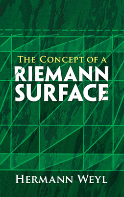 The Concept of a Riemann Surface (Dover Books on Mathematics) Cover Image