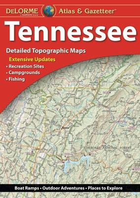 Delorme Atlas & Gazetteer: Tennessee Cover Image