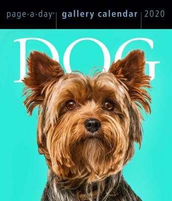 Dog Page-A-Day Gallery Calendar 2020 Cover Image