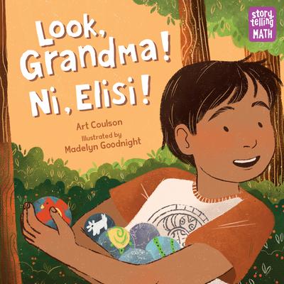 Look, Grandma! Ni, Elisi! (Storytelling Math) Cover Image