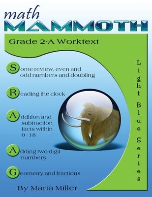 Math Mammoth Grade 2-A Worktext Cover Image