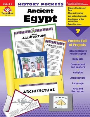 Ancient Egypt Grade 4-6+ (History Pockets) Cover Image