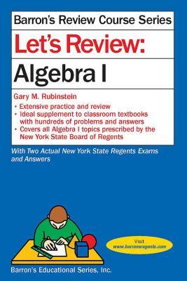 Let's Review Algebra I (Barron's Regents NY) Cover Image