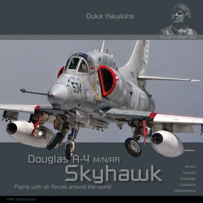 Douglas A-4 M/N/Ar/Af-1 Skyhawk: Aircraft in Detail Cover Image