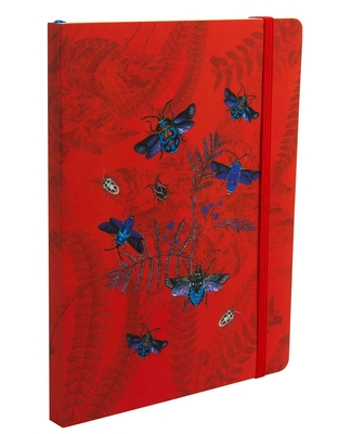 Art of Nature: Flight of Beetles Notebook with Elastic Band Cover Image