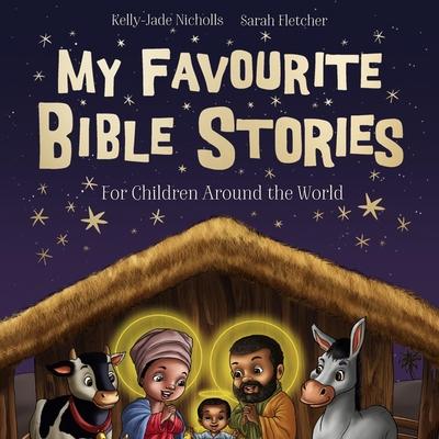 My Favourite Bible Stories Lib/E Cover Image