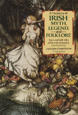Treasury of Irish Myth, Legend & Folklore Cover Image