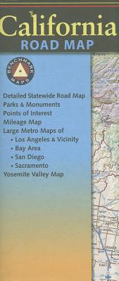 Benchmark California Road Map Cover Image