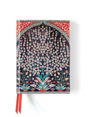 Turkish Wall Tiles (Foiled Journal) (Flame Tree Notebooks) Cover Image