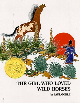 Girl Who Loved Wild Horses Cover Image