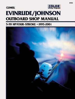 Cover for Johnson/Evinrude Four-stroke outboard Motor Shop Manual