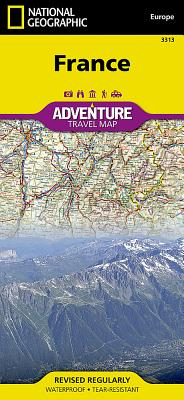 France (National Geographic Adventure Map #3313) Cover Image