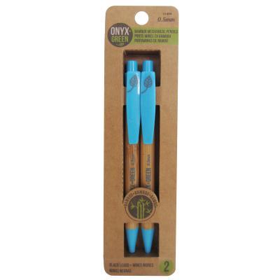 2pk Mechanical Pencils Bamboo Cover Image