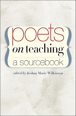 Poets on Teaching Cover