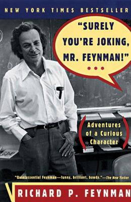 """Cover for """"Surely You're Joking, Mr. Feynman!"""""""