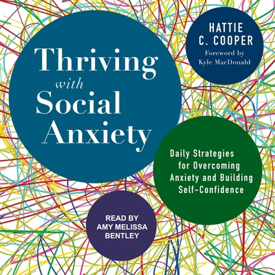 Thriving with Social Anxiety Lib/E: Daily Strategies for Overcoming Anxiety and Building Self-Confidence Cover Image