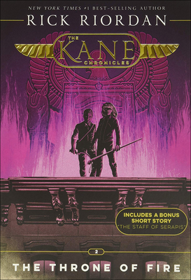 Throne of Fire (Kane Chronicles #2) Cover Image