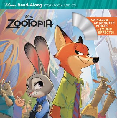 Cover for Zootopia Read-Along Storybook & CD (Read-Along Storybook and CD)