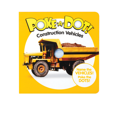 Poke-A-Dot: Construction Vehicles Cover Image