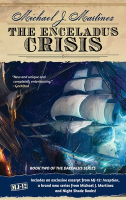 The Enceladus Crisis: Book Two of the Daedalus Series Cover Image