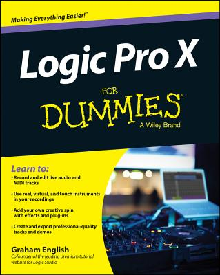 Logic Pro X for Dummies Cover Image