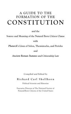 A Guide to the Formation of the Constitution Cover Image