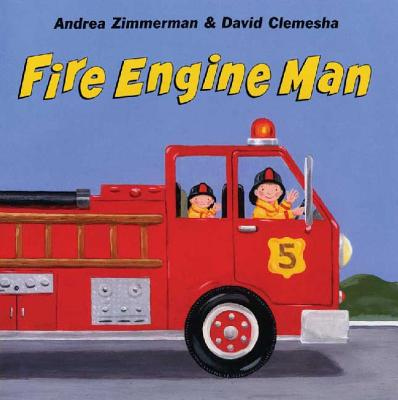 Fire Engine Man (Digger Man #2) Cover Image