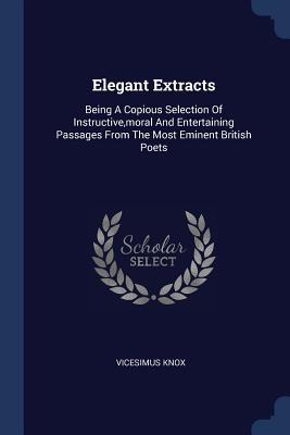 Cover for Elegant Extracts