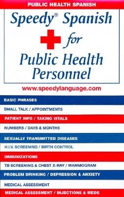 Speedy Spanish for Public Health Personnel Cover Image