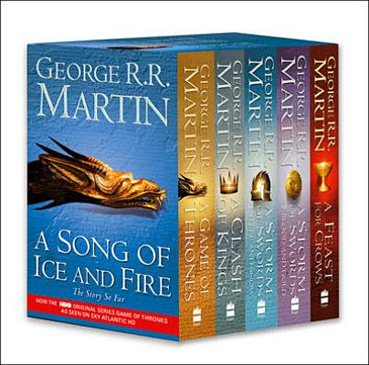 Game of Thrones: The Story Continues: A Song of Ice and Fire: Volumes 1-4 (a Game of Thrones Cover Image