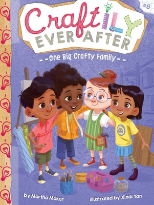 Cover for One Big Crafty Family (Craftily Ever After #8)