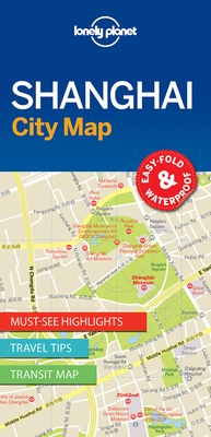 Lonely Planet Shanghai City Map Cover Image