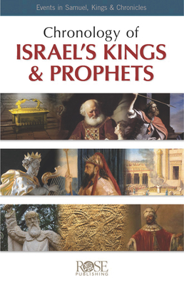 Pamphlet: Chronology of Israel's Kings and Prophets: Events in Samuel, Kings & Chronicles Cover Image