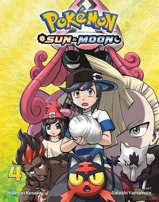 Pokémon: Sun & Moon, Vol. 4 Cover Image